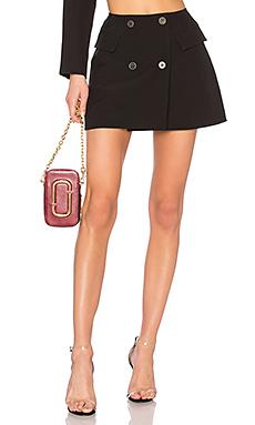 DANIELLE GUIZIO Blazer Mini Skirt in Black from Revolve.com