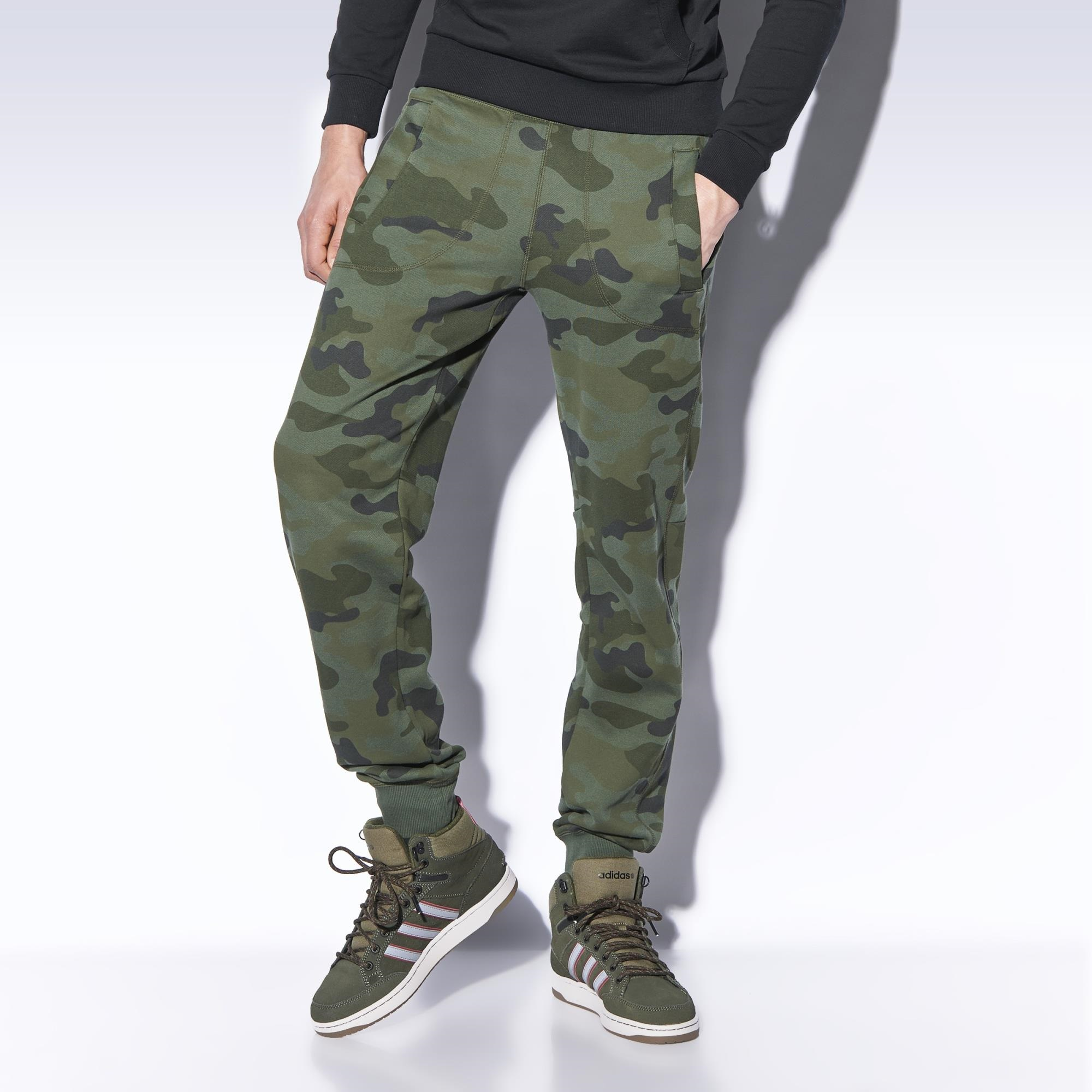 Adidas camouflage track pants