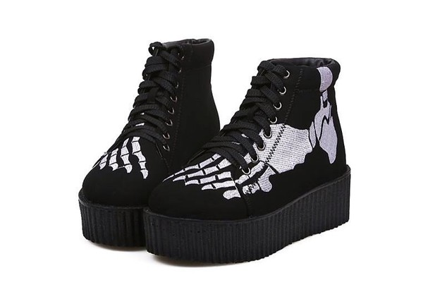Shoes Boots Pastel Goth Pastel Grunge Creepy Cute g Kiseki g Online