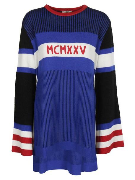 Fendi sweater high high low