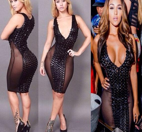 Sexy Women's Sleeveless Bodycon Club Party Cocktail Bandage Knee Length Dress   eBay