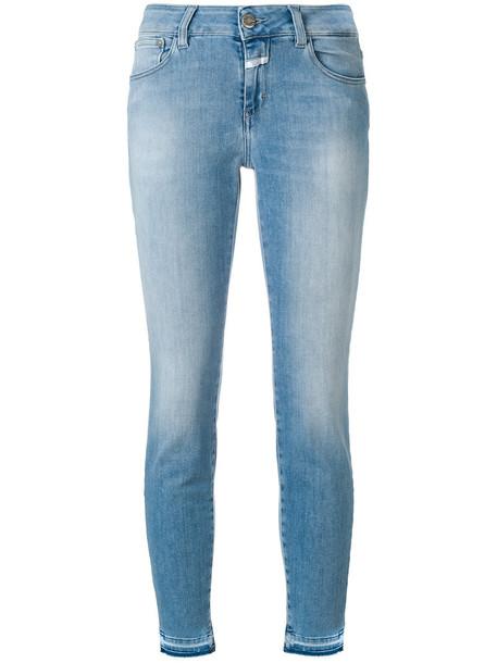 Closed jeans women spandex fit cotton blue