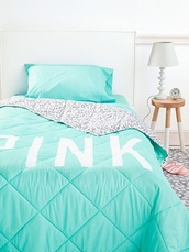victoria's secret,leopard print,sweet,bedroom,style,tumblr girl,shoes,pink by victorias secret,bedding,girly,home accessory,aqua,mint