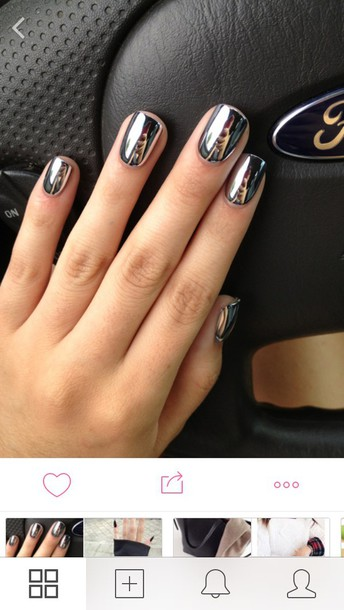 nail polish metallic