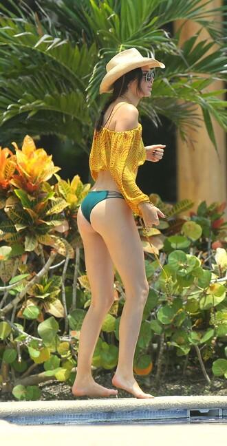 kendall jenner bikini summer summer top peasant top