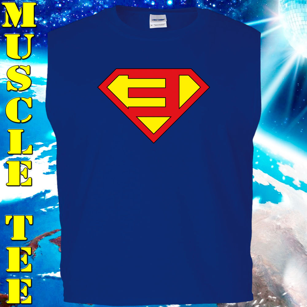 Eminem Superman Muscle Tee – Top – Digitally Printed Vinyl Artwork – Adult Teens | eBay