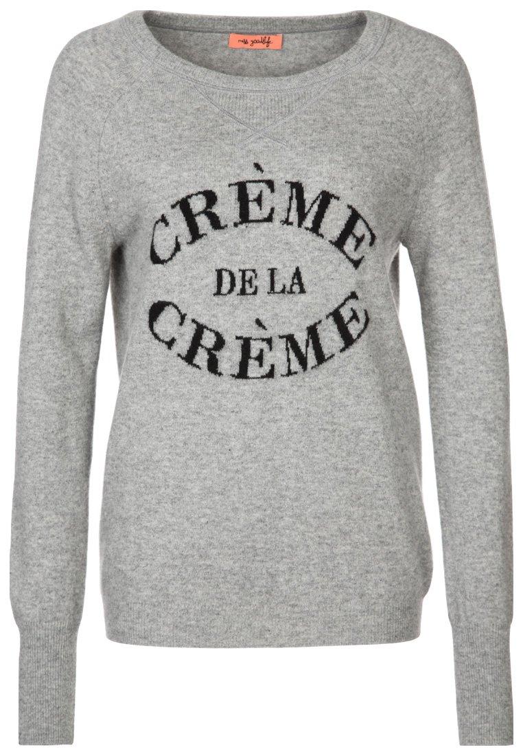 miss goodlife CRÉME DE LA CRÉME - Strickpullover - grau/schwarz - Zalando.de