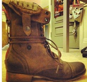 boots,military boots,brown boots,shoes