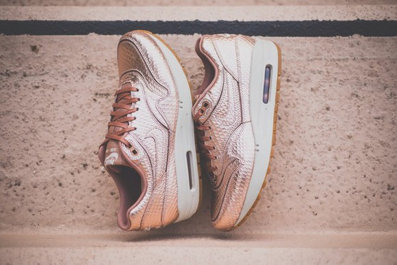 rose gold fashion style rose air air max max 2013 2014 fashion trends metallic shoes