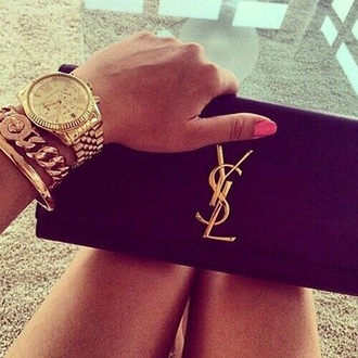 bag yves saint laurent clutch jewels