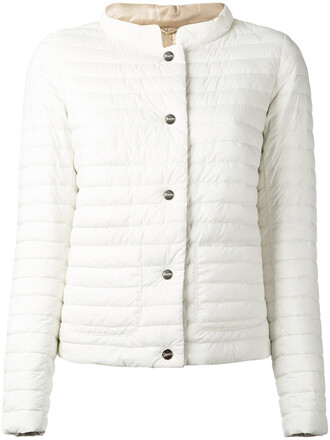 jacket puffer jacket women white