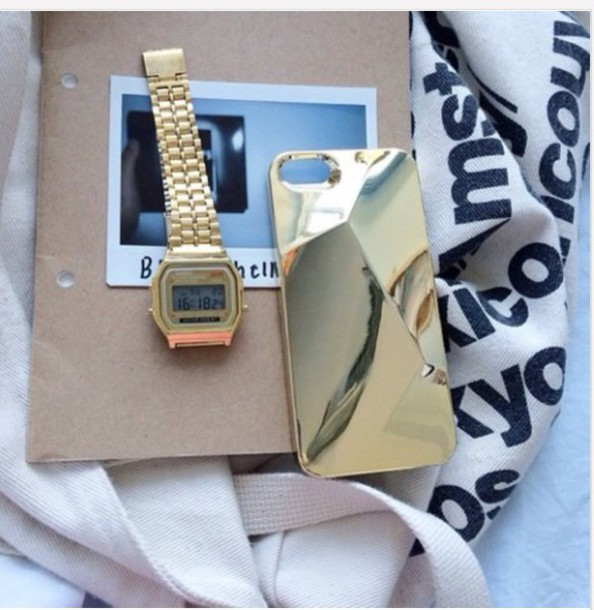 jewels watch gold jewelry gold watch cute fashion Accessory accessories