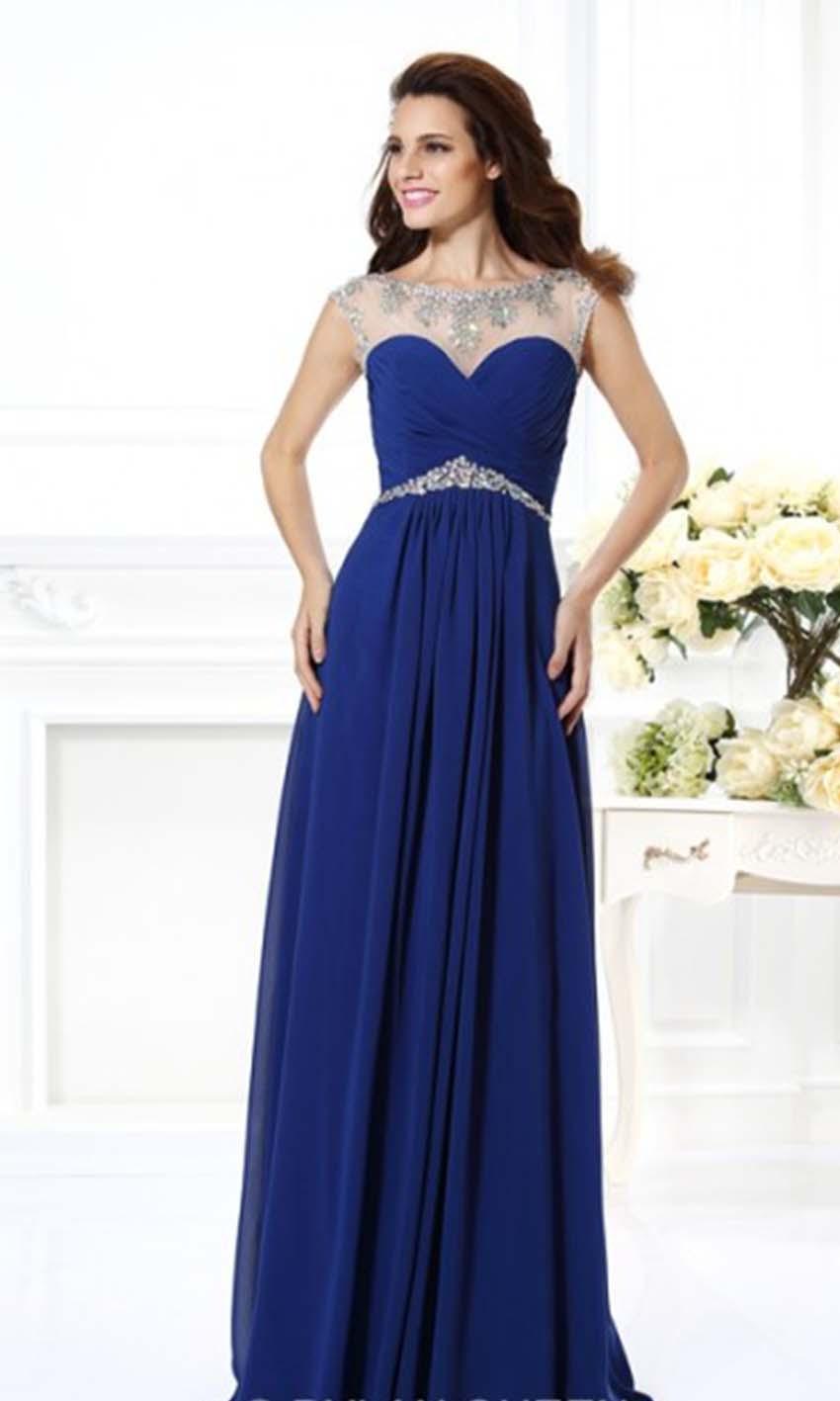 Evening dresses u k blue