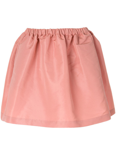skirt mini women purple pink