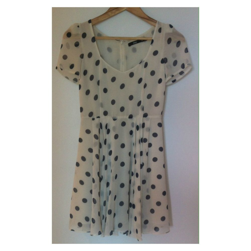Sportsgirl Polka DOT Dress Size 6 | eBay