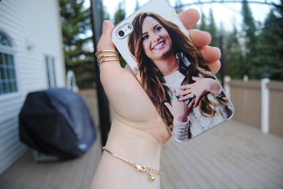 iphone cover phone cover demilovato lovatic