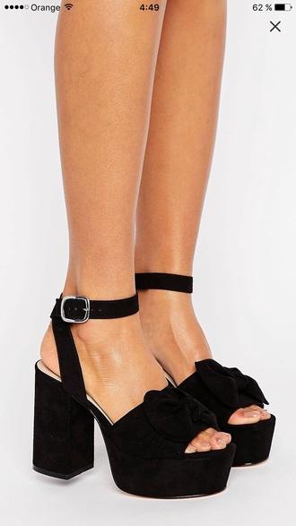 shoes black style people girl guys tacones plataform plataform heels high heels heels asos