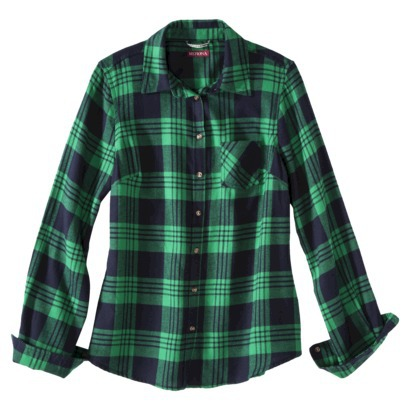 Merona® Petites Long-Sleeve Flannel Shirt - ... : Target