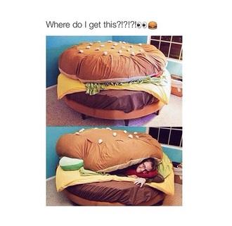 home accessory hamburger
