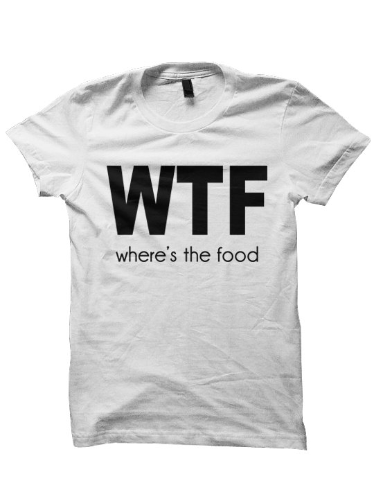 Where's The Food T-shirt - Cara Delevingne Tshirt Tee - Funny T ...