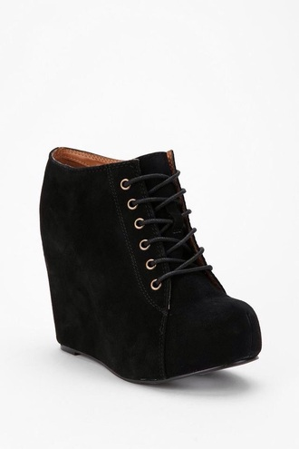 shoes black wedges booties ankle boots