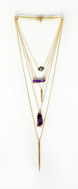 jewels necklace stones necklce