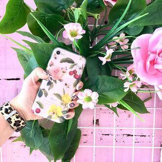 phone cover yeah bunny cherry iphone