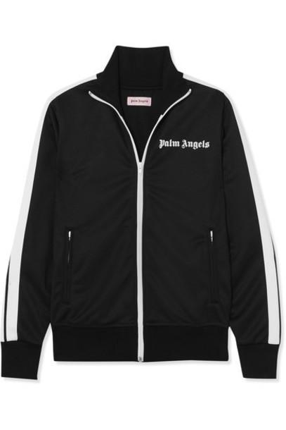 Palm Angels jacket black satin