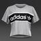 Womens clothing - adidas originals city tko tee - medium grey heather - s19905