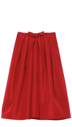 Silk Faille Full Skirt - Skirts | Shop | Tibi