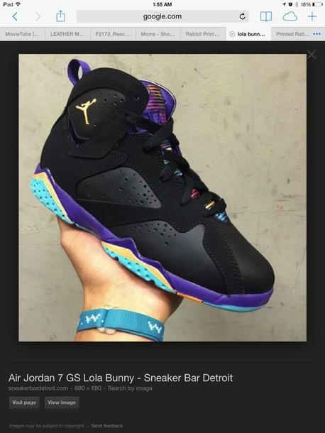 b74a15ee485 shoes lola bunny jordans purple space jam