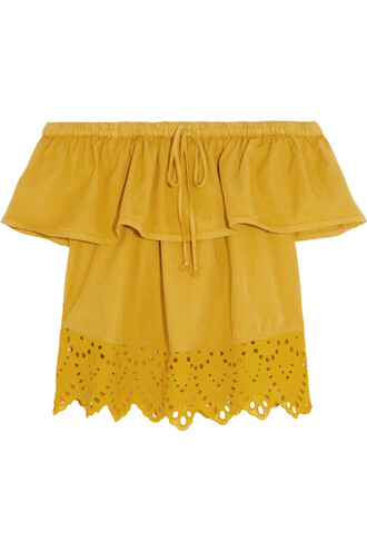 top cotton mustard