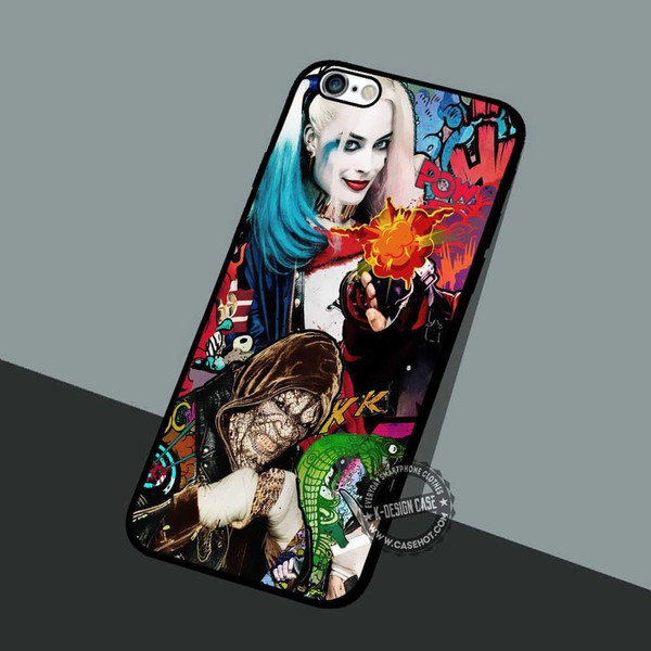 phone cover movies suicide squad harley quinn killer croc iphone cover iphone case iphone iphone 4 case iphone 4s iphone 5 case iphone 5s iphone 5c iphone 6 case iphone 6 plus iphone 6s case iphone 6s plus cases iphone 7 plus case iphone 7 case