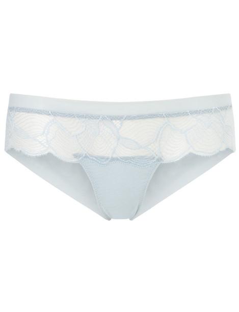 LA PERLA short light lace blue light blue