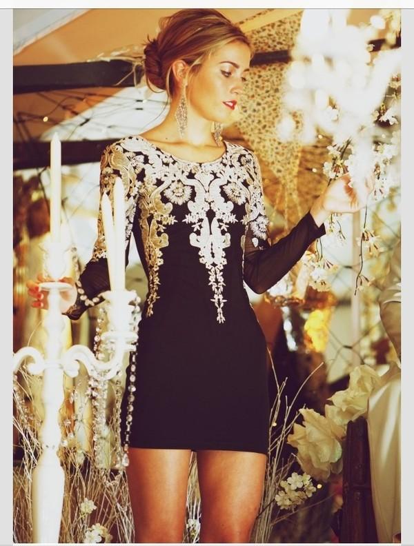 Little White Dress With Sleeves Dress Little Black Dress White