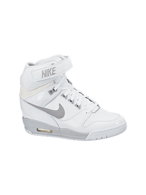 The Nike Air Revolution Sky Hi Women's Shoe.