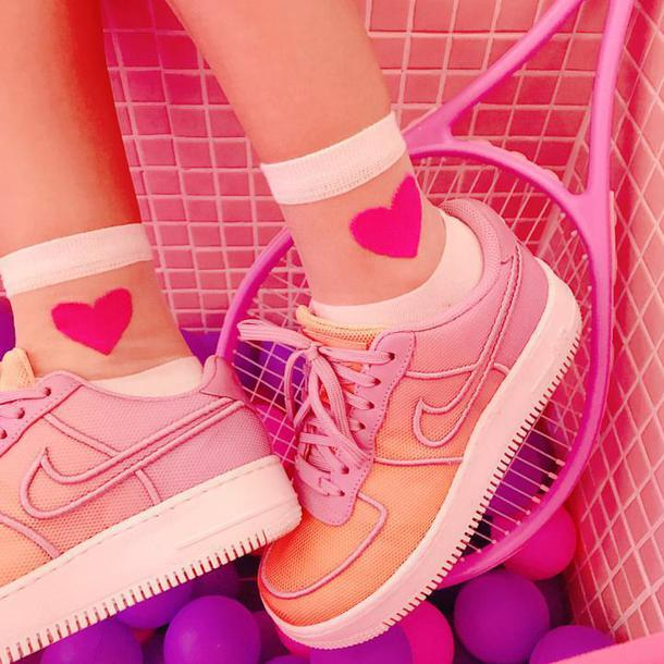 shoes aesthetic pink pink nike nike tumblr aesthetic shoes aesthetic nike tumblr nike