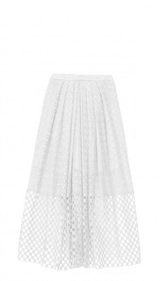 Sonoran Eyelet Full Skirt | Shop | Tibi