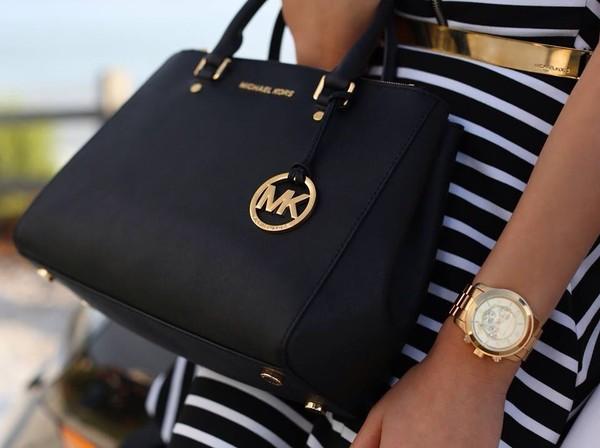 bag black bag dress black luxury michael kors michael kors bag jewels michael kors
