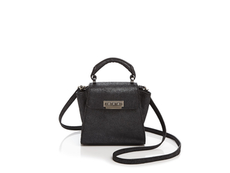 bag zac posen shoulder bag black bag black leather bag