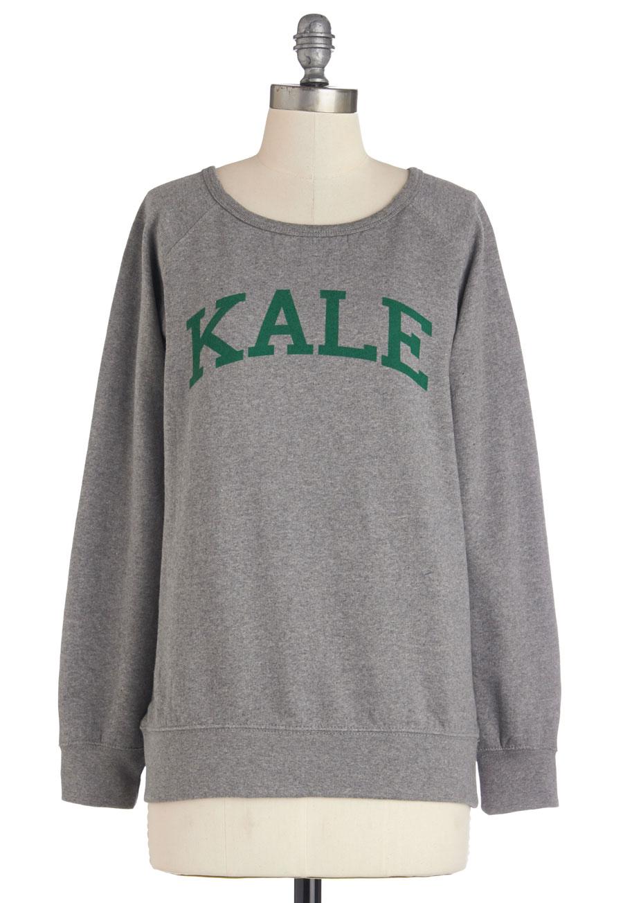 Ivy leaf education sweatshirt