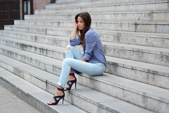 fashion vibe bag shoes blogger jewels jeans