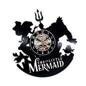 home accessory,wall clocks,vinyl clocks,creative clocks,clocks for girls,gifts for her,vintage clocks,cute,beautiful,gift ideas,the little mermaid,little mermaid gifts,little mermaid theme,little mermaid clocks,bedroom clocks for girls,vinyl record clocks,birthday gifts for her