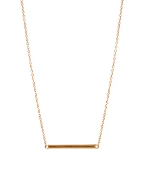 ASOS | ASOS Cylinder Necklace at ASOS