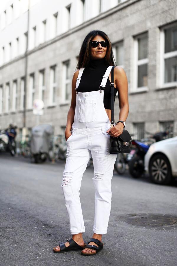 fashion landscape blogger jeans top sunglasses bag