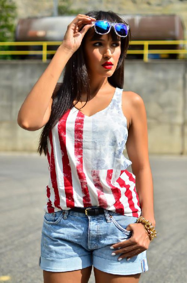 fashion blogger july 4th