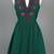 Emerald Crown Jewel Day Dress