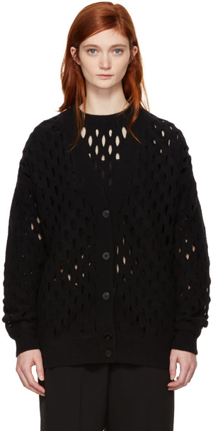 Alexander Wang cardigan cardigan oversized black sweater