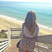 jacket,jeans,floral skirt,floral,denim shorts,denim jacket,skirt,flower skirt,short skirt,circle skirt,the little mermaid