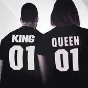 shirt,king queen shirt